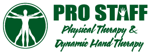 Pro Staff Physical Therapy and Dynamic Hand Therapy Logo