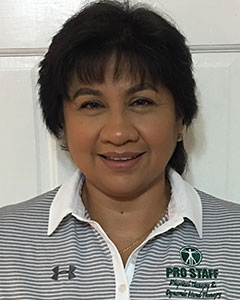 Janette Villacorta of Pro Staff Physical Therapy