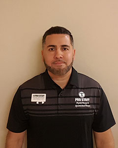 Dr. Jason Martinez, PT, DPT of Pro Staff Physical Therapy