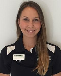 Dr. Samantha Sammaro, PT, DPT of Pro Staff Physical Therapy